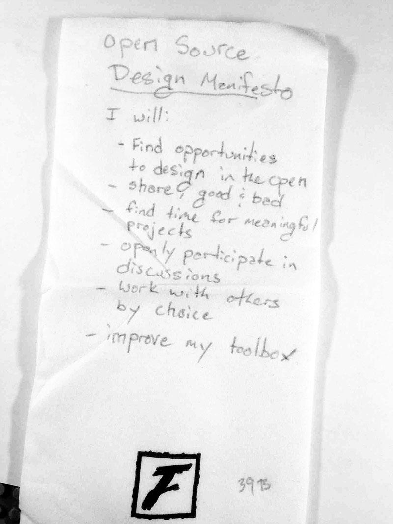 open design manifesto