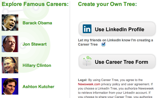 Career Tree on Newsweek.com