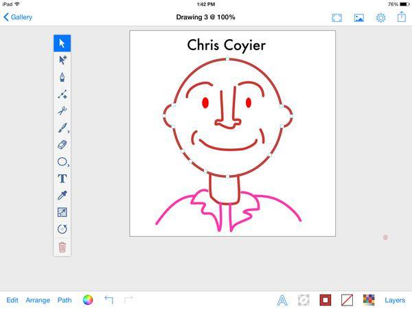 Chris Coyier sketch
