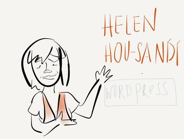Helen Hou-Sandí sketch