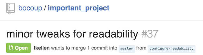 Find Pull Requests