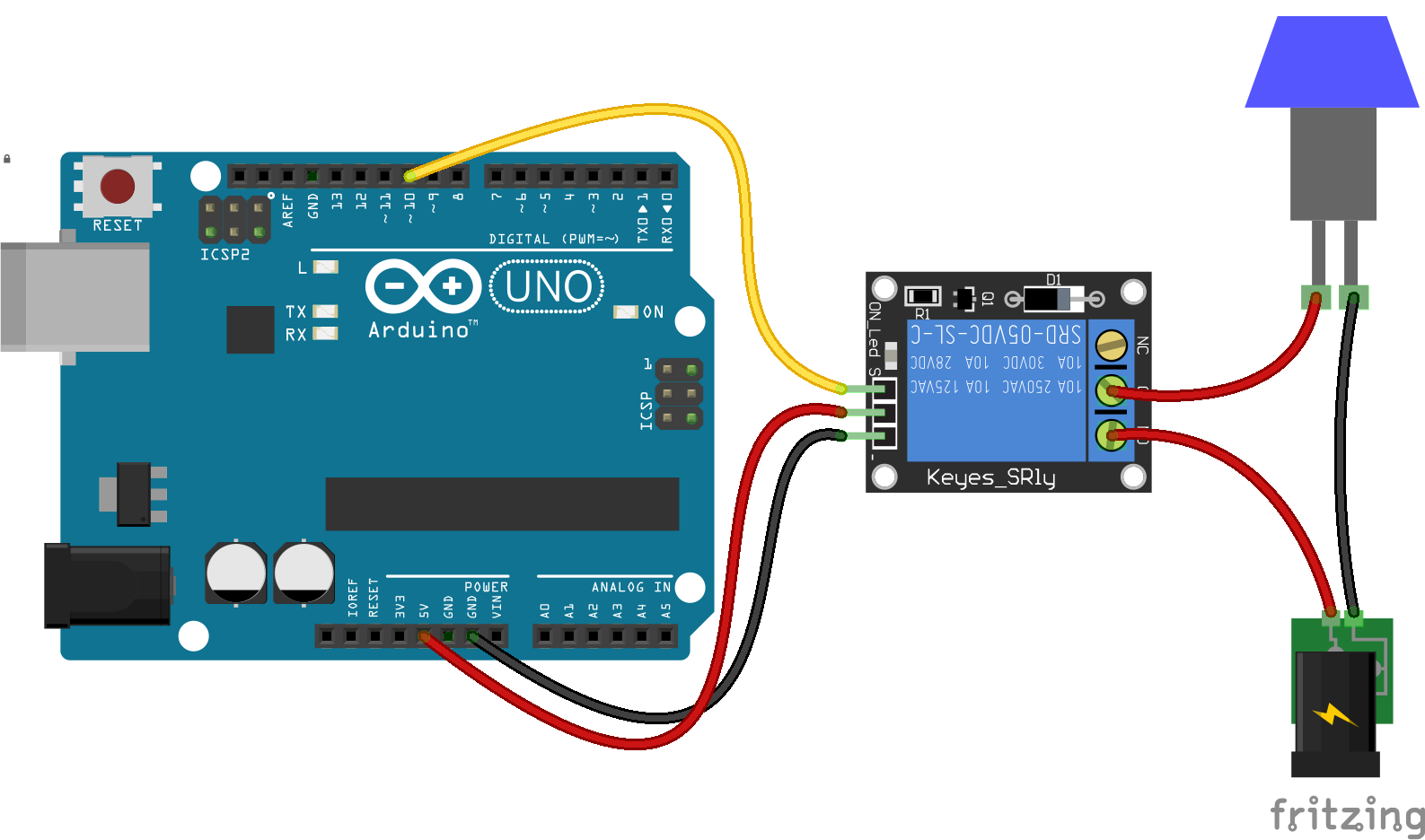 Arduino lesson 2-Channel Relay Module osoyoocom