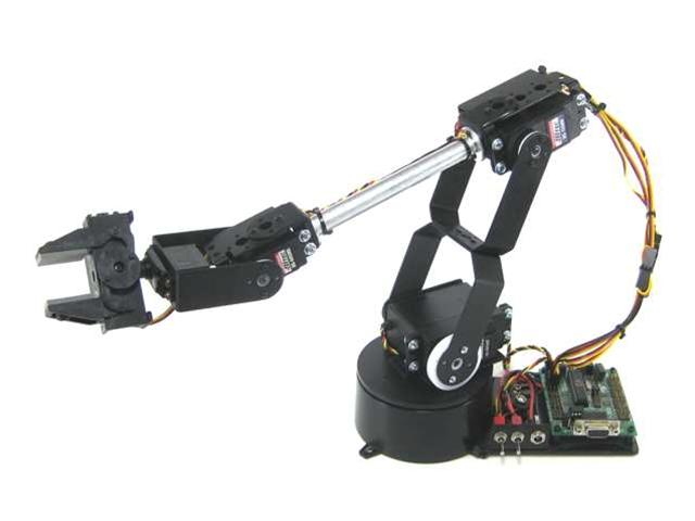 JavaScript: Arduino, Kinect Controlled Robot Arm - javascript