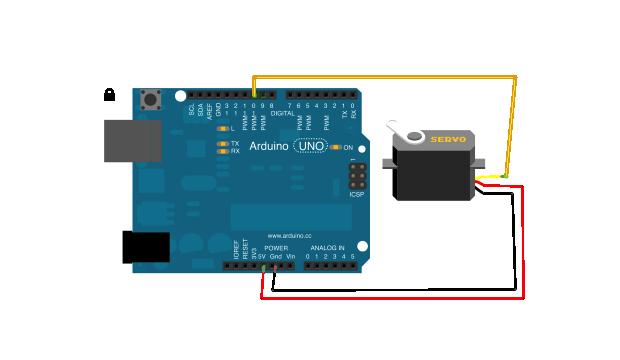 Javascript arduino servo control tutorial