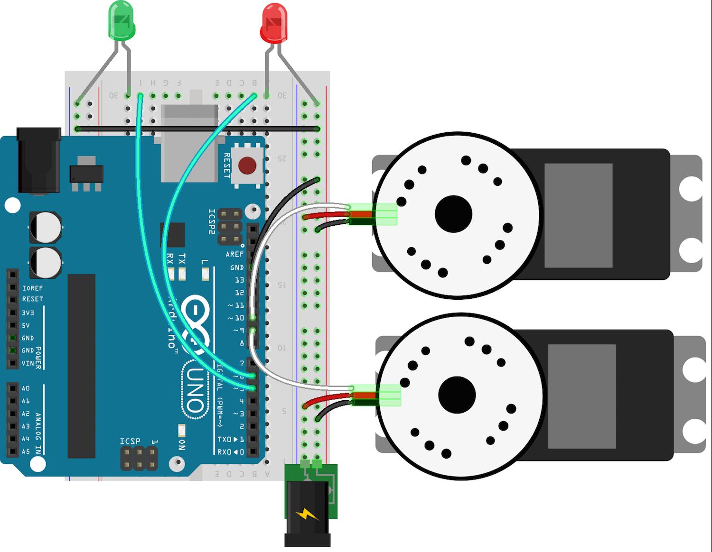 Arduino Uno Circuit