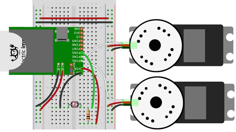 Electric Imp Circuit