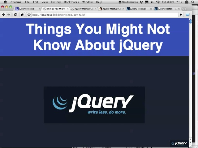 Things You Might Not Know About jQuery by John Resig